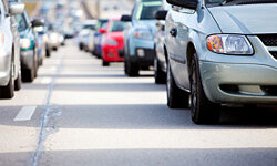 Transportation engineers and urban planners are looking at how to reduce traffic congestion so vehicles spend less time on the road.