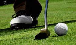 How can you improve your game on the putting green? See more sports pictures.