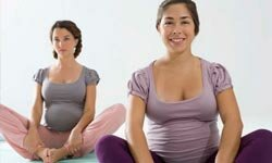 Prenatal yoga is a common form of exercise that can help relieve the aches and fatigue that often accompany pregnancy.