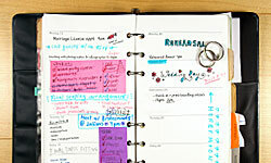 Image Gallery: You Know You're a Type A Bride When ... No rest for the weary when it comes to planning a wedding! Don't you wish you could hire someone to do it for you? You can! See pictures of Type A brides.