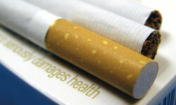 Sometimes reviewing the health risks is enough to help a smoker kick the habit.