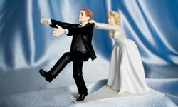 There are many reasons why a groom might flee the altar.