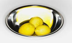 To make gremolata, start with lemons and add fresh parsley.