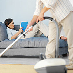 Wish No. 1: Vacuum. Wish No. 2: That your new hubby will use it. A registry can grant at least one of these wishes.