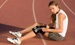Runners have to take care of their knees if they hope for a successful career.