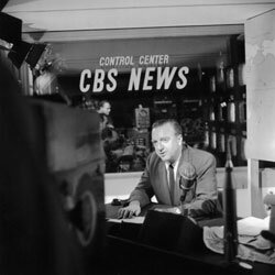 CBS News' Walter Cronkite is an icon who forever changed the face of evening news.