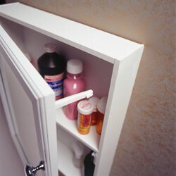 Even medicine cabinets can benefit from a good spring cleaning!