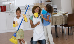 Enlisting your kids to help can (potentially) make spring cleaning more fun and efficient.