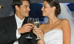 Eye contact can help you maintain intimacy long after the wedding vows are done.