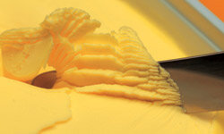 Margarine that comes in tubs is a better alternative to sticks.