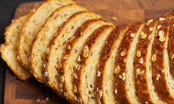Whole grain breads have more fiber and fewer calories.