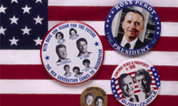 In 1992, Ross Perot made an impressive showing at the polls for a third party candidate.