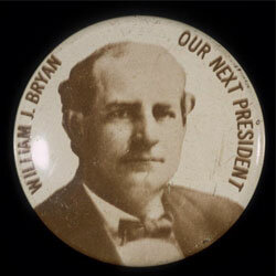 William Jennings Bryan ran for President in 1896 on three different party tickets.