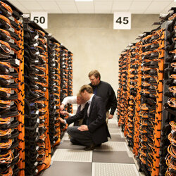 There's Argonne's supercomputer Mira, which ranked as the world's third-fastest supercomputer in June 2012.