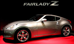 Nissan Motor Company's 'Fairlady Z,' better known as the '370Z' to the rest of the world, sits on display at Nissan's headquarters in Tokyo, Japan.