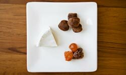 For a different appetizer, try a combination of chocolate and brie.