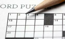 Completing a crossword puzzle section by section can make the work go by faster.