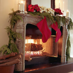 Garlands draped over mantles or banisters add a touch of natural beauty to your holiday décor.