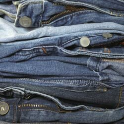Arguably the most popular clothing item in the world, the blue jean was invented in America in 1873 by Levi Strauss and Jacob Davis.