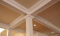 From the ceiling to the floor, functional and ornamental trims give your home structure and style. See our collection of home design pictures.