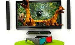 Home theater 3-D lets you invite predators right into your living room.