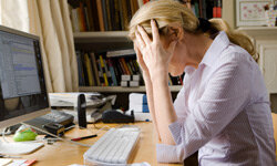 Is it eyestrain, or could your headache stem from sitting in the same position for too long?