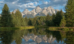 Why Wyoming? Just look at this incredible backdrop!
