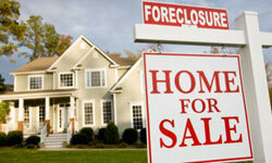 Foreclosures are on the rise because many homeowners are upside down on their mortgages, meaning they owe more than their house is worth.