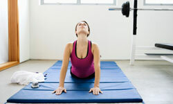 You might find a discount on yoga or fitness classes online.
