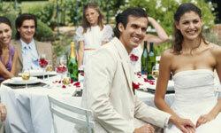 It was a fabulous wedding reception until...