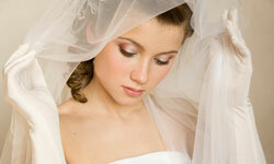 The wedding veil probably originated as a way to ward off evil and protect the purity of the bride.