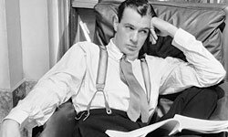 Gary Cooper introduced aspirational fashion in the '30s by wearing suits men couldn't afford.