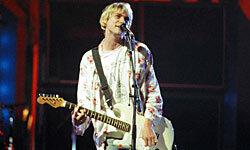 Kurt Cobain, the godfather of grunge