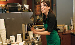 Starbucks baristas can qualify for comprehensive health, dental and vision insurance if they work at least 20 hours a week.