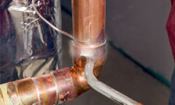 "Before connecting ""green"" pipes and fitting fixtures, check the local permits to avoid costly do-overs or retrofittings."