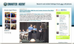 SmarterAgent.com began building real estate tools with mobile GPS technology back in 2000.