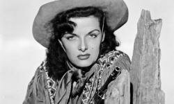 "American actress Jane Russell stars as Wild West sharpshooter Calamity Jane in ""The Paleface."""