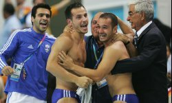 An amazing moment for Athens. But more about this pair of Greek divers a little later. See more Olympic pictures.