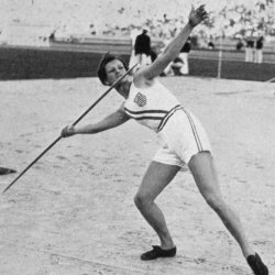Babe won gold for her javelin skills at the 1932 Olympic Games.