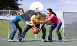People have come up with all sorts of ways to play around with the rules of basketball. See more sports pictures.