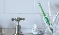 Your bathroom sink can be a clean, comforting place for you and your guests.