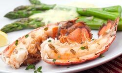 Bring out the king in him with a fancy lobster dish.