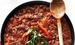 Spice things up with some chili.