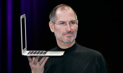 When Steve Jobs appeared at MacWorld, tweet surges crashed Twitter's site.