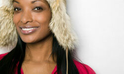 Faux fur can look just as fashionable as the real thing.