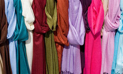 Scarves can change the look of an outfit without hitting your wallet too hard.