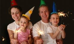 You don't have to get all dressed up and go out on New Year's Eve. An at-home party can be just as much fun -- and you can go to sleep whenever you want!