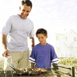 Grilling is a great pastime to share with kids of all ages.