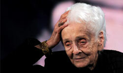 Rita Levi-Montalcini was one of the oldest living Nobel laureates.