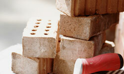 How well can bricks withstand fire? See more home construction pictures.